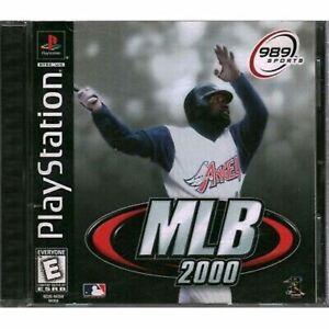 Complete MLB 2000 Baseball - Original Sony PS1 Game