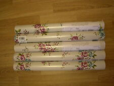 NEXT BRIGHTS FLORAL NATURAL Wallpaper Vintage Shabby Chic Wall Paper Roll bright