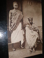 Old postcard Ashanti Princess Baa by Tuck c1924