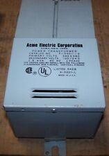 NEW ACME 1.5 KVA POWER TRANSFORMER 240X480 HV 120/240 LV SINGLE PHASE T-53011-A