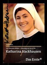 Katharina Hackhausen Um Himmels willen Autogrammkarte Original  # BC 74583
