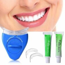 KIT BLANCHIMENT DES DENTS DENT BLANCHE +LAMPE UV+GEL REMINERALISANT VU A LA TELE