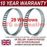 2X FOR CITROEN XSARA XSARA PICASSO 29 WINDOW 85.8MM ABS RELUCTOR RING CV AR0902