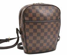 Authentic Louis Vuitton Damier Ipanema PM Shoulder Bag N51294 LV A4143