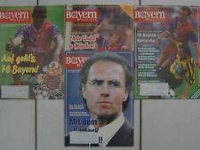 4 FCB Bayern München Magazin-e 45. Jhg. Nr.: 1/7/8/10  1993 / 1994