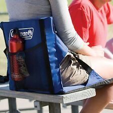 Stadium Seat Chair Bleacher Folding Portable Padded Cushion Football Sport Blue