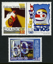 Ecuador 1531-1532, MNH. Salinas Yacht Club, 60th ann. Lighthouse,Sailboats, 2000