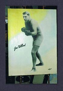 OLD RARE JESS WILLARD 30x40 large format boxing photo1915 World Champion boxer