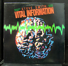 Steve Smith - Vital Information LP Mint- FC 38955 CBS Promo Stereo 1983 Vinyl