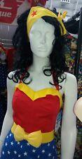 Wonder Woman Bombshell Pin Up Rétro Cravate Bow up Bandeau Cheveux Wear Geek Boutique