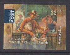 Australia 2017 Henry Lawson Mint unhinged International Post booklet stamp.