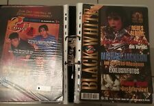 Michael Jackson Lot 14 Magazine Black And White B & W Book Magazin Allemand 1