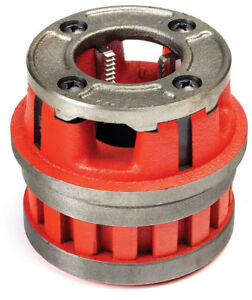 "Toledo Pipe 37405 1-1/4"" NPT Right Hand Die Head HSS Dies fit RIDGID® 12R 37495"