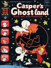 Casper Ghost Comic Halloween High Quality Metal Magnet 3 x 4 inches 9217