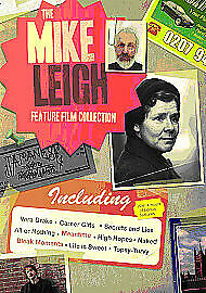 The Mike Leigh Feature Film Collection. 8 Film Box Set. UK Dvd Set