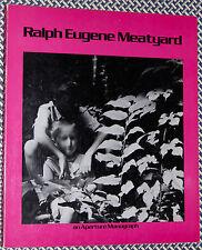 RALPH EUGENE MEATYARD Aperture Monograph, 1974 Photography