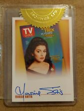 Quotable Star Trek Tng Marina Sirtis Tva1 Tv Guide autograph Card 2 case incenti