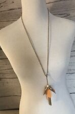 The Limited Long Gold Tone Pendant Necklace
