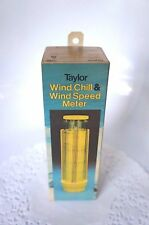 TAYLOR WIND CHIIL & WIND SPEED METER IN BOX WITH INSTRUCTIONS