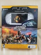 NEW,SEALED Star Wars Battlefront Renegade Squadron White Sony PSP 2000 Console