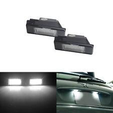 Peugeot 1007 106 207 307 308 3008 406 407 508 Expert LED Kennzeichenbeleuchtung