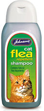 Johnson's Cat Flea Cleansing Shampoo 200ml