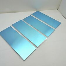 ".25"" thick Precision Cast Aluminum Plate 5"" x 15.375"" Long Qty 4 sku 136643"
