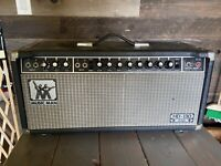 Vtg 1970s MUSIC MAN HD-130 Guitar Amp Head 65W Reverb w/ Footswitch - Working