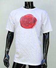 Dc shoes Usa Skateboard Co. White Red Logo Mens t shirt Large