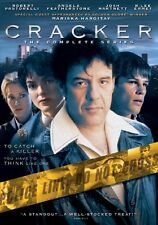 Cracker: The Complete Series [4 Discs] (2009, DVD NEW) Complete Series4 DISC SET
