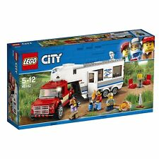 LEGO City Camp Van & Pickup Truck Building Toy 60182 from Japan
