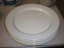 "6 ARABIA FINLAND 10"" White Dinner Plates"