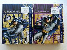 Batman The Animated Series - Volume 2 & Vol. 3 DVD Sets - New & Vol. 1 Like New