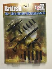 British Infantry Weapons Set 70-80s 1/6th Scale by Barrack Sergeant Realistic