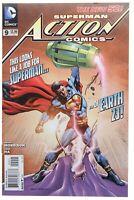 Action Comics 9 Morales Variant NM- Calvin Ellis Cover Superman 2012 DC Movie