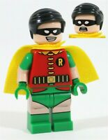 RARE LEGO 76052 ROBIN MINIFIGURE - CLASSIC BATMAN TV SERIES BATCAVE - 1969 FIG