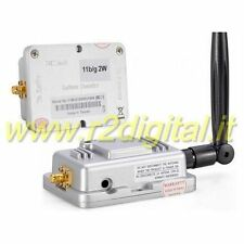 AMPLIFICATORE PER ANTENNE ROUTER 2W SMA SINO a 38Db ACCESS POINT RANGE EXTENDER