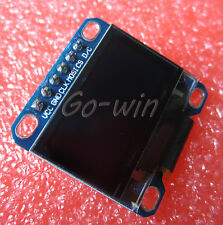 "2pcs Blue 0.96"" Spi 128X64 Oled Lcd Display Module Arduino/Stm32/Avr/51"