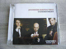 jazz CD contemporary european FINLAND suomi JOONATAN RAUTIO TRIO Commitment FI