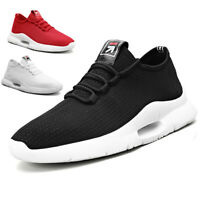 Women's Tennis Trainers Sports Shoes Athletic Mesh Lace Up Casual Sneakers Gym