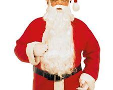 Widmann Srl - Maxi Santa Claus Barba con Sopracciglia