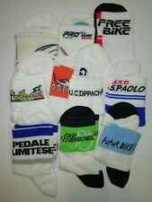 Lotto Stock 10 Paia Calze Calzini Ciclismo Cycling Socks 10 Pairs Size 39-44