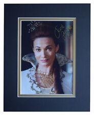 Sarah Parish Signed Autograph 10x8 photo display Merlin TV AFTAL & COA