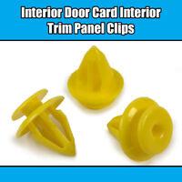 10x CLIPS For FORD KA FOCUS FIESTA GALAXY INTERIOR DOOR TRIM PANEL CARD FASTENER