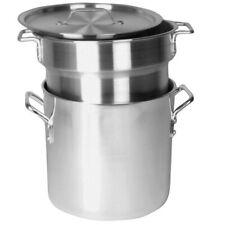 Thunder Group Alskdb003, 16-Quart Double Aluminum Boiler With Cover