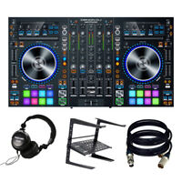 Denon DJ MC7000 | Premium 4-Channel DJ Controller. With Free Tascam TH-02   L...
