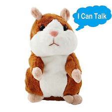 Cute Talk Hampster Speak Record Voice Plush Funny Cheeky Talking Hamster