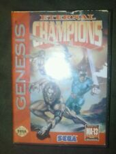 Sega genesis game Eternal Champions complete manual case cartridge rare cool