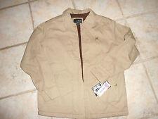 NEW Boys Hurley Khaki Cotton Jacket NWT Size Large