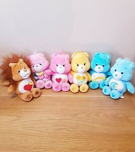 """Just Play Care Bear (2015-2016) Collection 8"""" Plush / Softs Toys X6"""